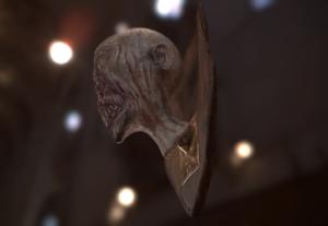 Head model: Zombie trophy