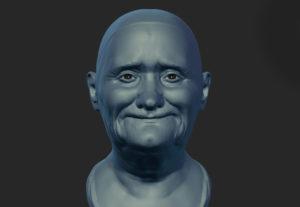 Head Dynamesh Sculpt