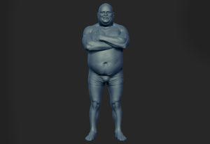 Body Dynamesh Sculpt