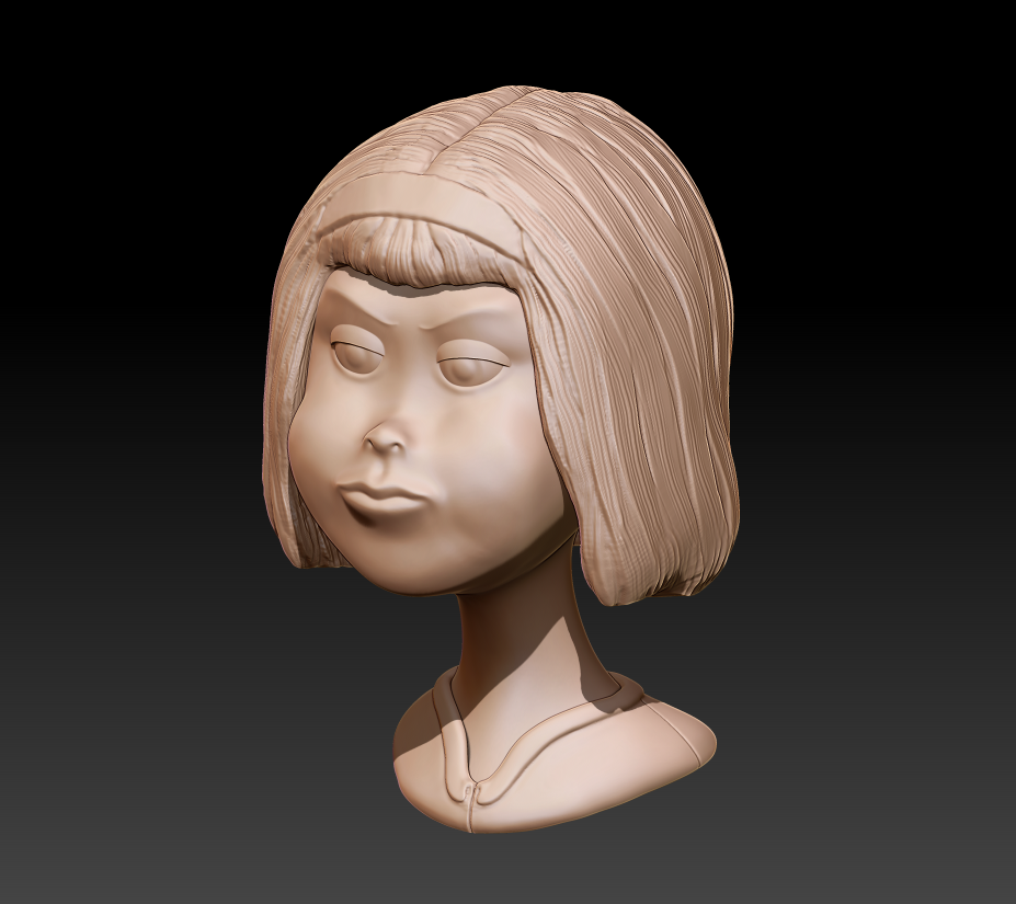 Character/Head Concept (Girl)