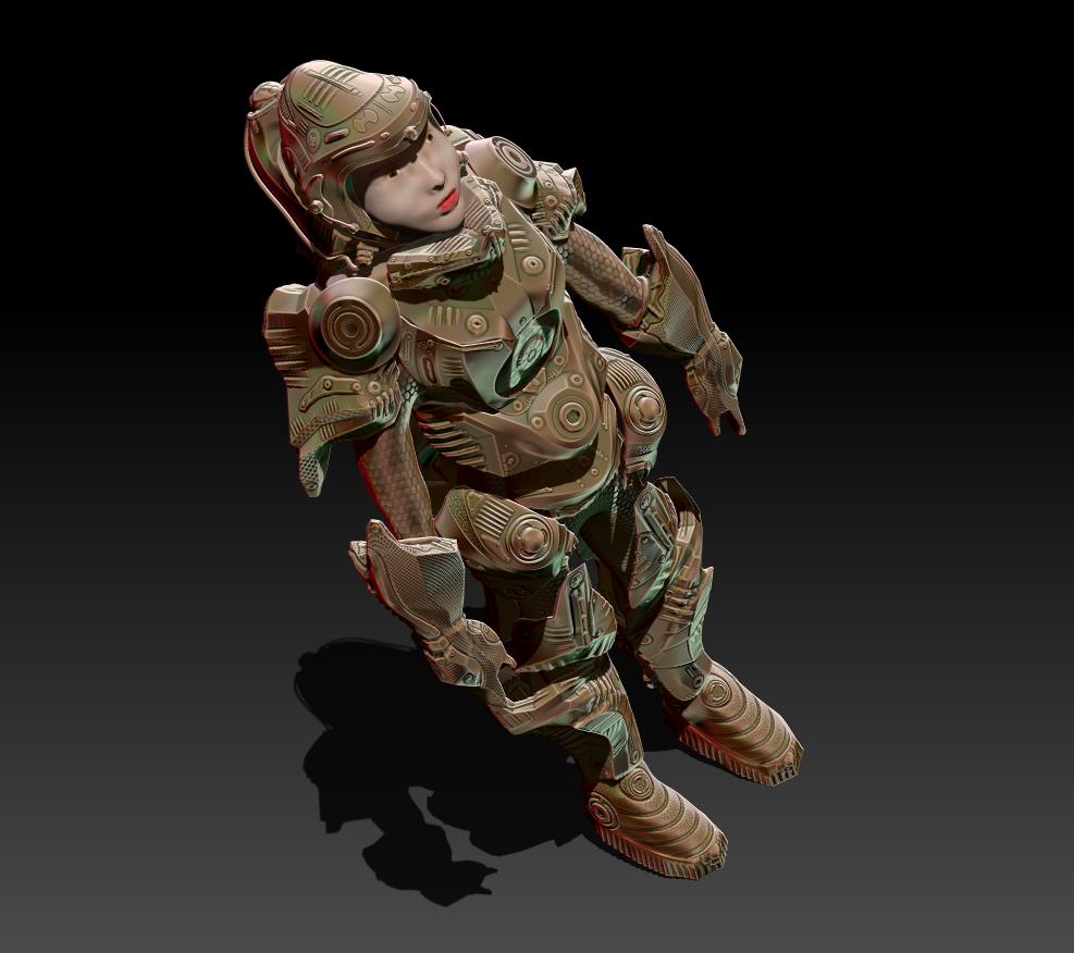 Sci-Fi Armor Concept